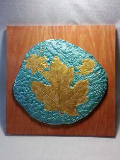 Samuel Turner -- ceramic and acrylics