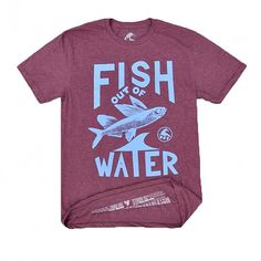 Fish Out of Water // Burgundy Heather | URT URT