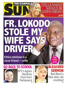 Grab yourself a copy of The Kampala Sun for of interesting stories around your city https://vpg.visiongroup.co.ug/flippaper/personal/