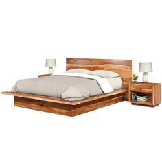 it doesn't need to be carved or embellished which is why our Delaware Solid Wood Platform Bed Frame features a mini. Full Size Platform Bed, Solid Wood Platform Bed, Platform Bed Frame, Wood Bedroom Sets, Bedroom Furniture, Mattress Dimensions, Wood Beds, Headboard And Footboard, Bed Plans