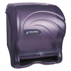 San Jamar Oceans Smart Essence Electronic Towel Dispenser 14.4hx11.8wx9.1d