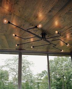 Rustic Industrial Pipe Lamp | Playa Del Carmen Rustic Industrial Lamps & Furniture
