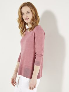 Browse Women's Knitwear at White Stuff. Whether you need Knitted Jumpers or Cardigans, or Sparkly and Novelty Knits, our knitwear range has you covered. September Outfits, Cosy Outfit, Cherry Tree, Powder Pink, Summer Colors, Knitwear, Jumper, Pullover, White Stuff