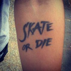 when I mean skate I mean in hockey skates!!