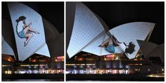 Projection by urbanscreen -- vivid syndey: festival of lights 2012