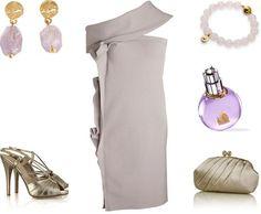 Lanvin dress & Valentino heels