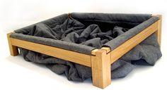 Diggable Dog Bed | #DIY