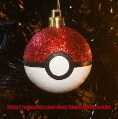 Gotta Catch Em All! These Pokeball ornaments are perfect for any Anime lovers tree! Sold individually as me for info on buying sets! The