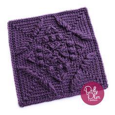 Transcendent Crochet a Solid Granny Square Ideas. Inconceivable Crochet a Solid Granny Square Ideas. Crochet Motifs, Granny Square Crochet Pattern, Crochet Blocks, Crochet Stitches Patterns, Tunisian Crochet, Crochet Squares, Crochet Granny, Learn To Crochet, Granny Squares