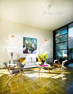 Salas / recibidores de estilo moderno por Taller Estilo Arquitectura