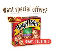Coupons and Special Offers from Bagel Bites