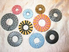 JillyBeJoyful: Covered Washers/Pattern Weights Tutorial