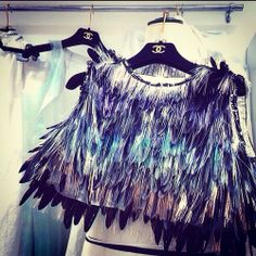 Chanel feather something