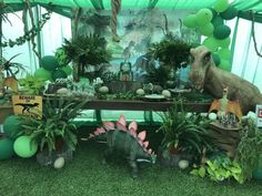 Jurassic World / Dinosaurs Birthday Party Ideas | Photo 1 of 51 | Catch My Party