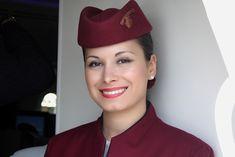 https://flic.kr/p/j6uRQK | hôtesse Qatar Airways