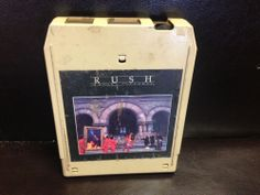 RUSH Moving Pictures 8-track tape 1981 8 Track Tapes, Mercury Records, Ol Days, Moving Pictures, Good Ol, My Memory, Comebacks, Growing Up, 1970s