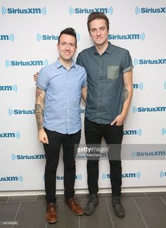 Jonathan Steingard and Micah Kuiper of Hawk Nelson visit at SiriusXM Studios on January 16, 2015 in New York City. loml