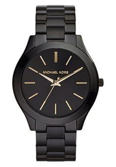 Michael Kors - RUNWAY - Horloge - schwarz