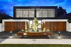 Inkerman Road Town Houses by John Davey Architects Duplex House Design, Duplex House Plans, Modern House Design, Modern Architecture House, Residential Architecture, Architecture Design, Modern Townhouse, Townhouse Designs, Plantas Duplex