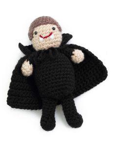Halloween Crochet -Cody the Count Vampire free pattern