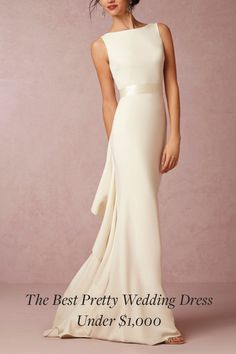 Yes, You Can Find a Pretty Wedding Dress Under $1,000. Here are 11, for starters.