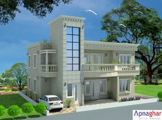 """Home sweet home. This is the place to find happiness. If one doesn't find it here, one doesn't find it anywhere."" - M. K. Soni  Planning to build a house? Checkout beautiful house designs at - www.apnaghar.co.in"