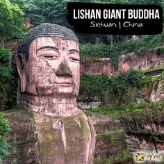 The Leshan Giant Buddha is a 71-metre tall stone statue, built between 713 and 803, depicting Maitreya. Construction was started in 713, led by a Chinese monk named Hai Tong. He hoped that the Buddha would calm the turbulent waters that plagued the shipping vessels traveling down the river. The Buddha is located to the east of Leshan City, Sichuan Province, at the confluence of three rivers, namely, Min River, Qingyi River, and Dadu River.