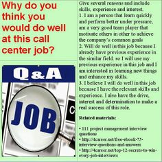 call center question and answers