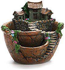 How to Break a Clay Pot for a Fairy Garden - DIY Tips