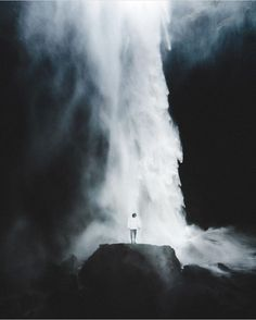 """The falls""  unbelievable emotion captured by @benjaminhardman  selected by @blue.ridinghood  Check Benni's photography everyone his work is just amazing! Thank you all for tagging"
