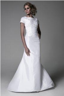 Bristol Modest Wedding Dress