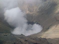 Kawah Bromo di Probolinggo, Jawa Timur
