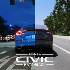 The versatile, fun-to-drive, all-new Civic Hatchback is now available at your local Honda dealer. Roof Box, Honda Civic Hatchback, Engine Start, New Honda, Led Headlights, Blue Pearl, Roof Rack, Manual Transmission, Alloy Wheel