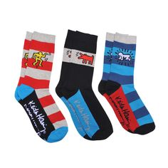 Keith Haring Socks 3 Pack