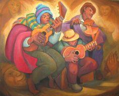 Pinturas De Paisajes Peruanos   ... de juan de la cruz machicado pintor peruano serie paisajes andinos del