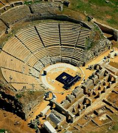 Ancient Theatre of Filippi, near Kavala, Greece | Flickr - Photo by Visit Greece