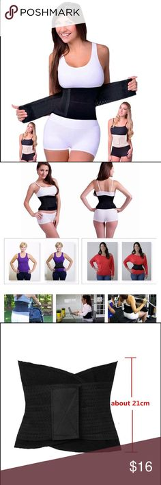Waist Cincher Trainer Gym  Shaper Belt Size: S/M , L/XL (S and M are same belt , L and XL are same belt) S-M: waist girth 75—100cm L-XL: waist girth 88—115cm  1inch=2.54cm due to manual measurement,size may have a little differs it is Suitable for cycling, gymnastics, aerobics and other types of indoor and outdoor fitness sports wear use. To maintain body heat, promote blood circulation of the body, oppression waist, abdomen, buttocks, leg muscles and fat, create the perfect curve of the…