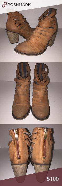 Free People Brown Hybrid Booties sz 8/39 Worn before , no trades Free People Shoes Ankle Boots & Booties
