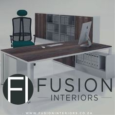 38mm metal framed L'shape desk with filing cabinet visit our website www.fusioninteriors.co.za File Cabinet Desk, Filing Cabinet, Environmental Management System, Green Office, Ideal Tools, L Shape, Office Furniture, Layout Design, Cool Designs