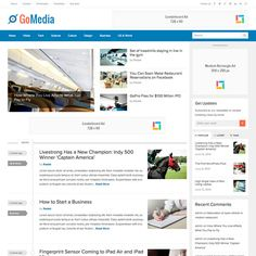 GoMedia – Responsive Fresh Modern News, Magazine WP Theme