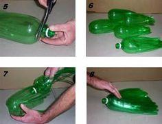Escoba con botellas 2