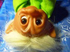 Totally Vintage!: Valkeatukkainen peikko: Lyckotroll, onnenpeikko Grinch, Retro, Toys, Fictional Characters, Vintage, Art, Kunst, Gaming