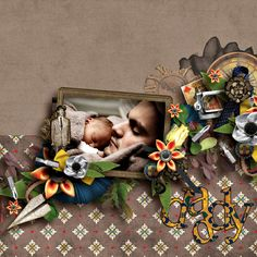 Made with the collection Stories Of Dad by Little Feet Digital Designs available at PBP here https://www.pickleberrypop.com/shop/product.php?productid=39163&cat=0&featured=Y Picture by PublicDomainPictures on Pixabay  WA Mismashed Family by Amy Martin