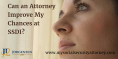 The chances of your Social Security Disability claim being approved are much higher if you have an experienced Social Security Disability Attorney working for you.  Contact Us! https://www.mysocialsecurityattorney.com/contact-us/ #SanDiegoDisabilityAttorney #SocialSecurityDisabilityAttorney #DisabilityLawyer