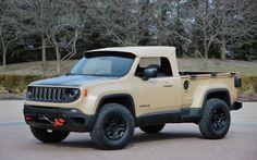 ¿Se viene una #Jeep #Renegade pick up Probablemente #JeepComanche #Comanche