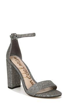 Sam Edelman Yaro Ankle Strap Sandal (Women) Older Quotes, Summer Wear, Ankle Strap Sandals, Style Guides, Nova, Nordstrom, Sporty, Club, Formal