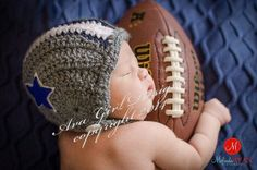 Adorable! - Hey, I found this really awesome Etsy listing at https://www.etsy.com/listing/193482638/newborn-baby-dallas-cowboy-football