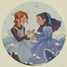 anne of green gables Gilbert And Anne, Amybeth Mcnulty, Anne White, Anne Shirley, Cute Art, Art Drawings, Sketches, Fan Art, Animation