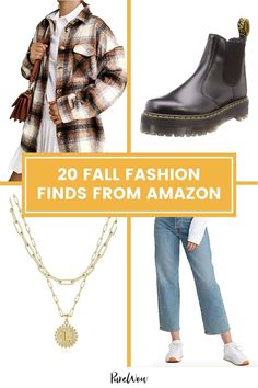 Fashion trends are always changing, and this fall we have all of the trends locked down along with our 20 favorite picks. #fall #autumn Chic Fall Fashion, Fall Fashion Trends, Shearling Jacket, Basic Outfits, Wrap Sweater, Dress To Impress, What To Wear, Autumn Style, Early Fall