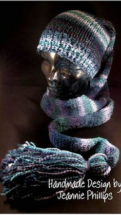 Loom Knit - Scarf/Hat (Scat) Pattern for the smaller gauge looms.  By Jeannie Phillips posted on Ravelry.